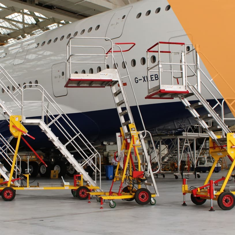 Engineers' Maintenance Steps & GSE
