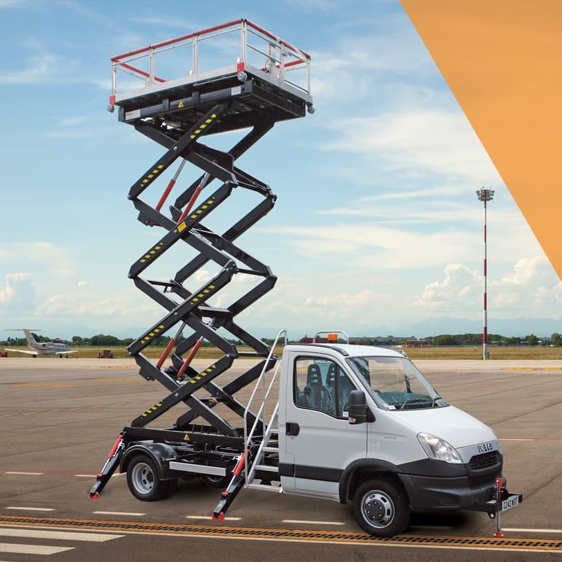 Vehicle Mounted Scissor Lifts